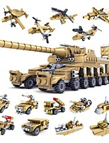 Building Blocks Tank Toys Adults' Boys 544 Pieces