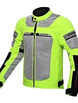 abordables -chaqueta protectora de la motocicleta de los hombres que cae el engranaje impermeable del protector para el deporte del motor