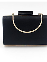 Women Bags Polyester Evening Bag Buttons for Casual All Season Black