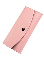 cheap -Women Bags PU Wallet Pockets for Casual All Season Blue Black Blushing Pink Purple Sky Blue