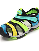 Boys' Shoes Leatherette Fall Winter Comfort Sandals For Casual Pink Blue Yellow Orange