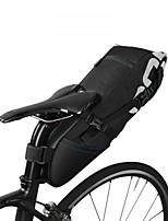 Bike Bag 8LBike Trunk Bags Rain-Proof Waterproof Zipper Fitness Bicycle Bag Polyester/Cotton Cycle Bag Cycling Cycling