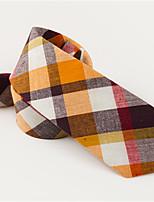 cheap -Men's Cotton Neck Tie,Casual Jacquard All Seasons