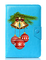 cheap -Universal Christmas Designs PU Leather Stand Cover Case For 7 Inch 8 Inch 9 Inch 10 Inch Tablet PC