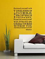 Cartoon Words & Quotes Wall Stickers Plane Wall Stickers Decorative Wall Stickers,Vinyl Home Decoration Wall Decal Wall Window