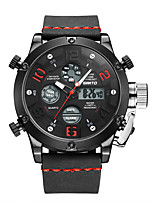 cheap -Men's Casual Watch Fashion Watch Dress Watch Chinese Quartz Calendar / date / day Chronograph Water Resistant / Water Proof Noctilucent