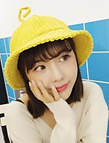 cheap -Women's Corduroy Sun Hat,Cute Casual Solid Color Spring, Fall, Winter, Summer Artistic Style
