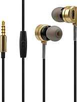 X31 In Ear Wired Headphones Dynamic Plastic Sport & Fitness Earphone Noise-isolating with Microphone Headset