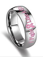 Women's Band Rings Fashion Stainless Circle Jewelry For Party Daily