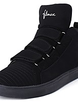 cheap -Men's Shoes Tulle Spring Fall Light Soles Sneakers Walking Shoes Booties/Ankle Boots Buckle For Casual Silver Black White