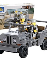 Building Blocks Toys Vehicles Military Boys Girls 199 Pieces