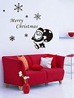 Vacances Stickers muraux Stickers Décoration,Papier Matériel Décoration d'intérieur Calque Mural