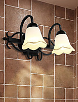 cheap -Wall Light Downlight Wall Sconces 40W 220V E14 Rustic/Lodge Bronze