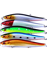 5 pcs Fishing Lures Minnow g/Ounce mm/5-1/2