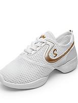 economico -Da donna Sneakers da danza moderna Tulle Sneaker All'aperto A fantasia Piatto Bianco Fucsia Personalizzabile