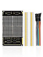 economico -modulo display a matrice di punti a led 16 * 16 interfacce illimitate cascading / 12864 compatibili per arduino