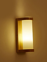 cheap -Wall Light Ambient Light Wall Sconces 40W 220V E27 Country Wood