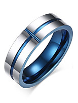 Men's Metallic Stainless Steel Circle Jewelry For Wedding Party