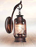 Ambient Light Wall Sconces AC220V E27 Rustic/Lodge Bronze For