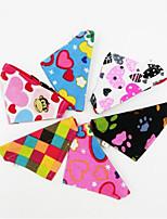 Chat Chien Cravate/Noeud Papillon Vêtements pour Chien Tissu Printemps, Août, Hiver, Eté Décontracté / Quotidien Lolita Couleur Pleine