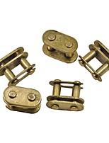 5pcs / sac or t8f maillon de chaîne maître se connecter pour mini quad de poche de vélo de moteur