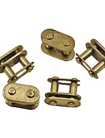 5PCS/ Bag Golden T8F Master Chain Link Connect For Mini Motor Pocket Bike Quad