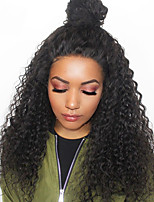 cheap -Deep Wave 360 Lace Frontal Wigs For Black Women Human Hair Wigs With Baby Hair Pre Plucked 180% Density Malaysian Remy Hair