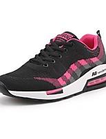 Недорогие -Для мужчин обувь Дышащая сетка Весна Осень Удобная обувь Кеды для Повседневные Черный Синий Розовый