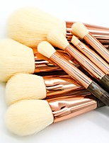 cheap -8 pcs Makeup Brush Set Blush Brush Eyeshadow Brush Lip Brush Powder Brush Foundation Brush Nylon Synthetic Hair Others Eco-friendly