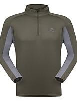 cheap -Men's Hiking Fleece Jacket Outdoor Quick Dry Top Single Slider Running/Jogging Camping / Hiking Fishing
