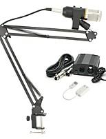 economico -KEBTYVOR MK-F200TL Con filoMicrophoneSet Microfono a condensatore