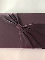 cheap -Satin Romance Fantacy WeddingWithRibbon Tie 1 Package Box Guest Book