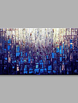 Hand-Painted Abstract Horizontal,Modern One Panel Canvas Oil Painting For Home Decoration