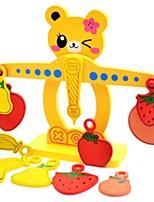 Недорогие -Конструкторы Игрушки Игрушки Животный принт Животные Для школы Вертикальный дизайн Дерево Куски