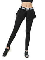 cheap -Women's Running Pants Fitness, Running & Yoga Pants / Trousers for Yoga Running/Jogging Pilates Polyester Blue Black White XL L M S
