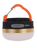 billige -Lanterner & Telt Lamper Nødlys LED 180 lm Automatisk Tilstand LED Slimfit Camping/Vandring/Grotte Udforskning Sort