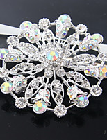 cheap -Women's Jewelry Set Brooches Simple Classic Fashion Wedding Daily Silver Plated Brooch