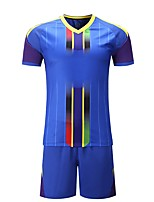 cheap -Men's Soccer T-shirt Trainer Breathability Summer Polyester Spandex Soccer/Football