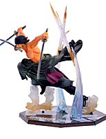 cheap -Anime Action Figures Inspired by One Piece Roronoa Zoro PVC 13 CM Model Toys Doll Toy
