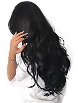 cheap -3 Pieces Natural Black Body Wave Unprocessed Virgin Peruvian Human Hair Weaves Hair Extensions
