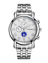 cheap -Women's Fashion Watch Wrist watch Chinese Quartz Water Resistant / Water Proof Stainless Steel Band Casual Silver