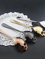 abordables -cocina azúcar cráneo cuchara coleccionables cubiertos regalo té café herramientas