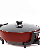 cheap -Aluminium Plastic Flat Pan Multi-purpose Pot,30*7