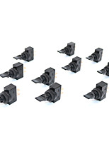 cheap -10Pcs Black Toggle Switch 12VDC 20A ON-OFF 12mm Mounting Thread