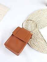 cheap -Women Bags PU Shoulder Bag Zipper for Casual All Season Brown Black