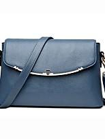 cheap -Women Bags PU Crossbody Bag Zipper for Event/Party Casual Winter Fall Blue Black Gray