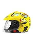 Недорогие -детский шлем универсальный мультфильм защитный безопасный citycoco мотоцикл велосипед моторизированный мотороллер детский полузащитные