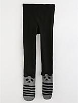 cheap -Girls' Solid Polka Dot Striped Pants,Cotton Winter Fall Black Gray