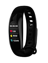 cheap -Smart Bracelet Bluetooth Water Resistant Pedometers Touch Sensor APP Control Pulse Tracker Pedometer Activity Tracker Sleep Tracker Alarm