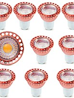 cheap -10pcs COB 5W COB SPotlight GU10/GU5.3 Warm/Cool White LED Bulb Light AC85-265V